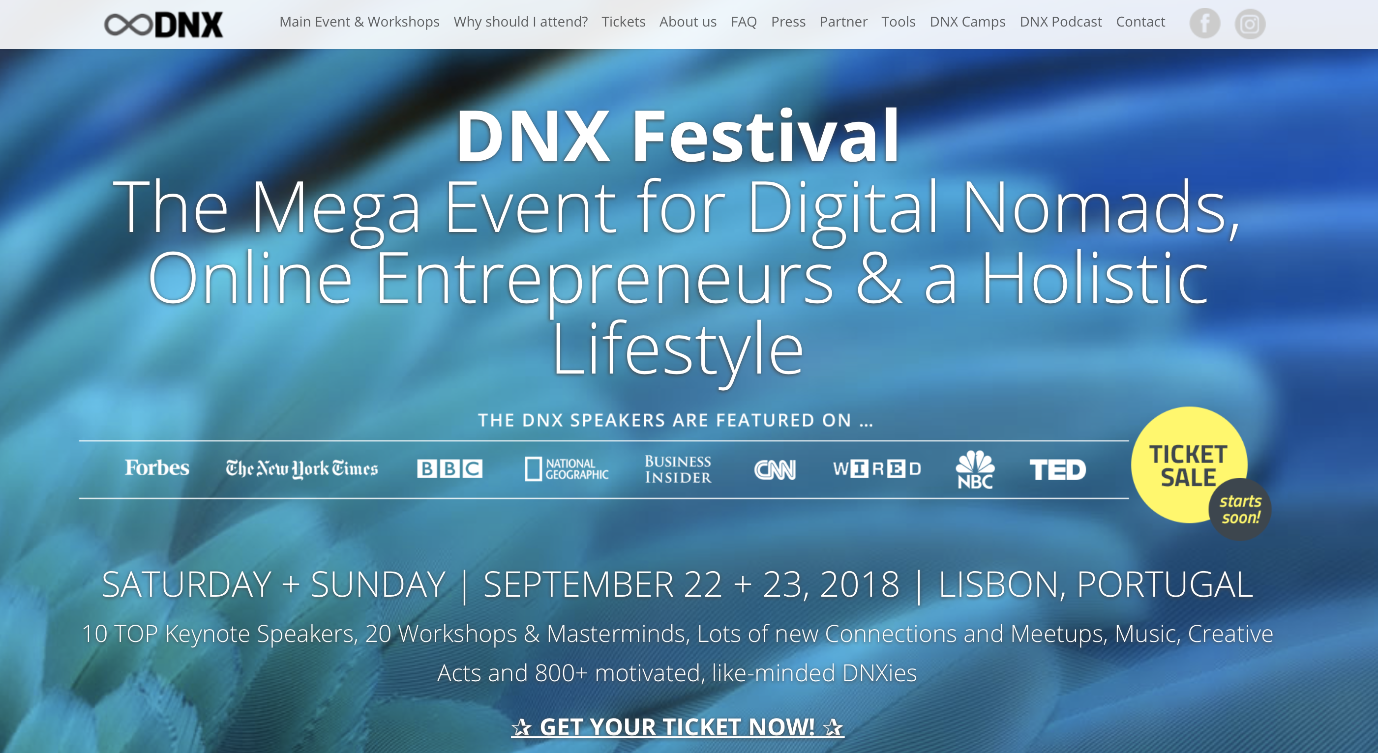 Digital nomad festival dnx fandeluxe Image collections
